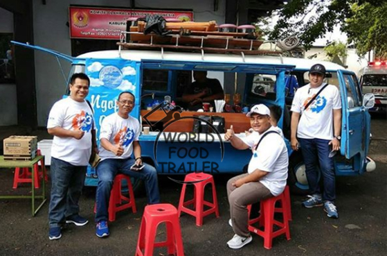 Volkswagen Food Truck to Thailand
