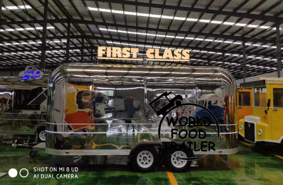 Best Selling Food Trailer with VIN number, Food Cart, Mobile Food Trailers