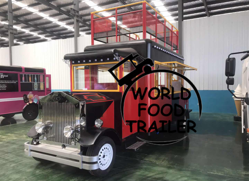 Vintage Food Truck, China Factory Food Truck, Food Trailer