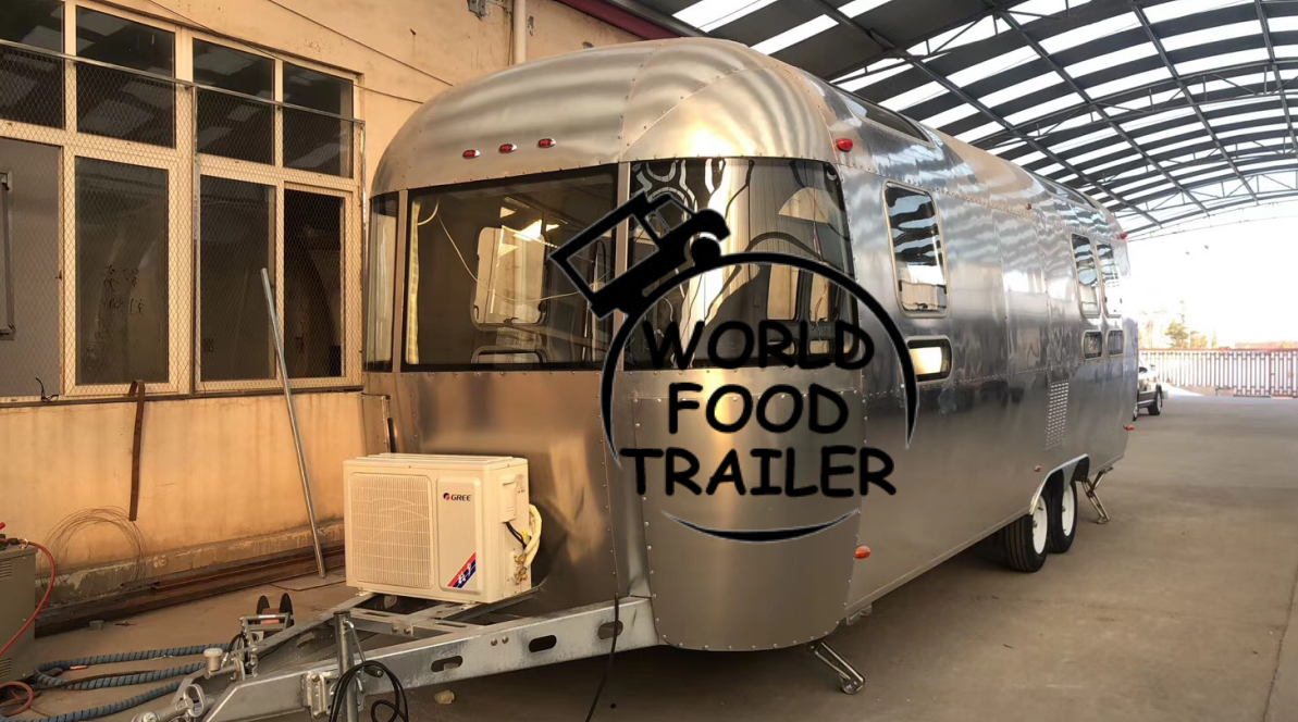New Made Series Airstream Food Trailer T2