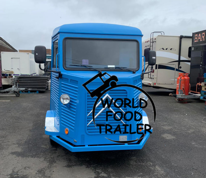 Citroen Hy Food Truck in UK