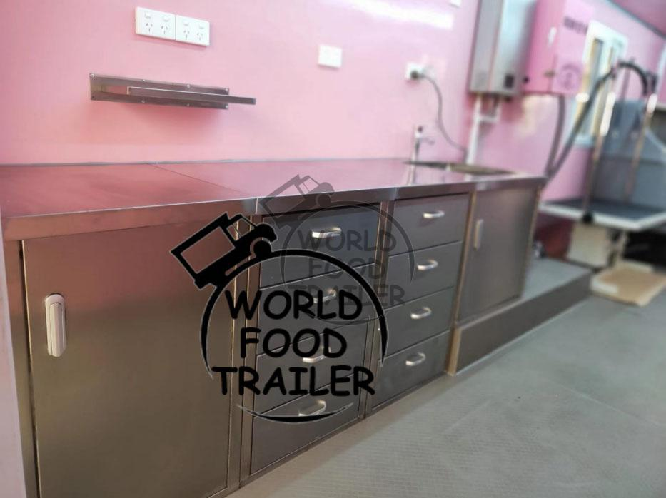 Mobile Trailer Concession Trailer, Dog Salon Trailer